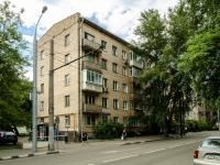 Пресненский район, улица Васильевская, дом 3. многоквартирный дом