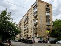 Пресненский район, улица Малая Грузинская, дом 12. многоквартирный дом