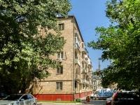 Пресненский район, улица Малая Грузинская, дом 21. многоквартирный дом