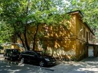 Пресненский район, улица Малая Грузинская, дом 23 с.4. неиспользуемое здание