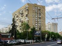 Пресненский район, улица Малая Грузинская, дом 41. многоквартирный дом