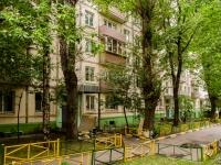 Пресненский район, Средний Тишинский переулок, дом 24-26. многоквартирный дом