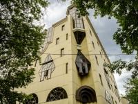 Пресненский район, Средний Тишинский переулок, дом 28. офисное здание