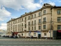 Пресненский район, площадь Тишинская, дом 3. многоквартирный дом