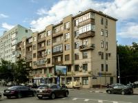 Пресненский район, площадь Тишинская, дом 6. многоквартирный дом