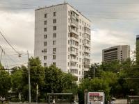 Пресненский район, улица Трёхгорный Вал, дом 5. многоквартирный дом
