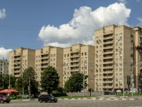 , Ln Goncharny, house 8. Apartment house