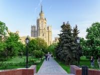 , embankment Kotelnicheskaya. public garden