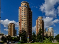 Таганский район, улица Новорогожская, дом 40. многоквартирный дом