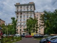 , st Narodnaya, house 13. Apartment house
