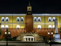 Tverskoy district, st Dvortsovaya, house 16. sample of architecture