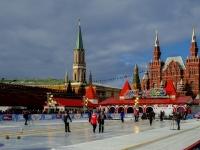 площадь Красная. каток  на Красной площади