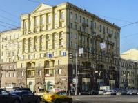 улица Тверская, дом 19. многоквартирный дом