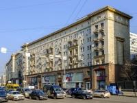 Тверской район, улица Тверская, дом 4. многоквартирный дом