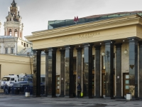 Tverskoy district, square Teatralnaya. underground station