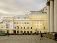 площадь Театральная, дом 2. театр Российский академический молодежный театр