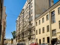 Тверской район, Лихов переулок, дом 5. многоквартирный дом