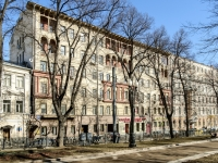 Tverskoy district, blvd Petrovsky, house 15 с.1. Apartment house