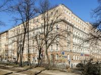 Tverskoy district, blvd Petrovsky, house 17/1. Apartment house