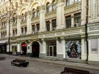 Тверской район, Столешников переулок, дом 11. многофункциональное здание
