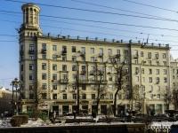 Tverskoy district, blvd Tverskoy, house 28. Apartment house