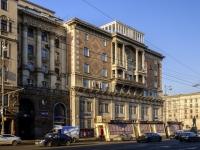 Tverskoy district, square Triumfalnaya, house 4 с.1. Apartment house