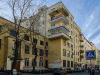 Tverskoy district,  , house 4 с.1. Apartment house