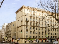 Tverskoy district,  , house 34. Apartment house