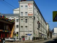 Тверской район, улица Сущёвская, дом 27. офисное здание