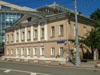 Tverskoy district, st Delegatskaya, house 3 с.2. building under reconstruction
