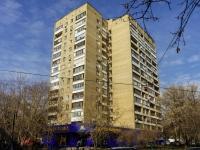 Tverskoy district, st Delegatskaya, house 9 с.1. Apartment house