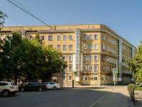 Tverskoy district, st Delegatskaya, house 14/2. Apartment house
