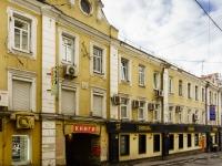 Тверской район, Малый Гнездниковский переулок, дом 12. многофункциональное здание