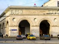 Тверской район, площадь Тверская Застава, дом 1. станция метро Белорусская