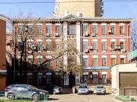 Tverskoy district, st Tikhvinskaya, house 1/13СТР2. office building
