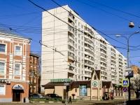 Tverskoy district, st Tikhvinskaya, house 3. Apartment house