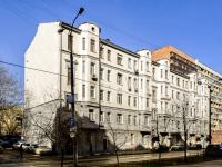 Tverskoy district, st Tikhvinskaya, house 7. Apartment house