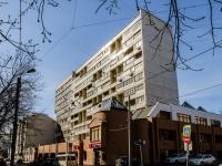 Tverskoy district, st Tikhvinskaya, house 9. Apartment house