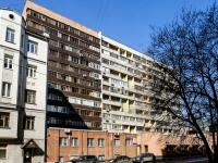 Tverskoy district, st Tikhvinskaya, house 9А. Apartment house