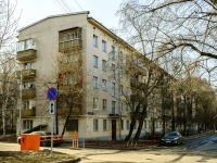 Tverskoy district, alley Uglovoy, house 4. Apartment house