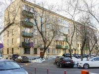 Tverskoy district, alley Uglovoy, house 21. Apartment house