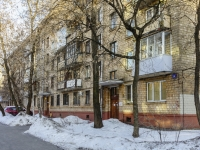 Tverskoy district, alley Uglovoy, house 26. Apartment house