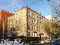 Tverskoy district, alley Uglovoy, house 27. Apartment house