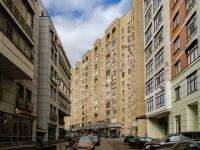 Тверской район, улица Миусская 1-я, дом 2. многоквартирный дом