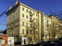 Тверской район, улица Миусская 1-я, дом 22 с.4. многоквартирный дом
