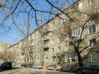Tverskoy district, alley 2nd Lesnoy, house 4/6К1. Apartment house