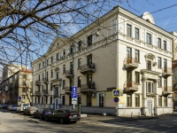 Tverskoy district,  , house 14/28. Apartment house