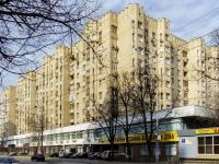 ,  , house 1/21СТР1. 公寓楼