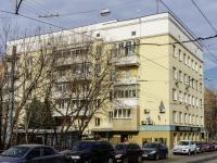 Тверской район, улица Краснопролетарская, дом 35. многоквартирный дом