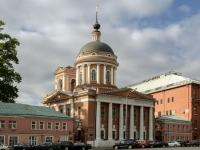 Tverskoy district, square Novaya, house 12 с.2. temple